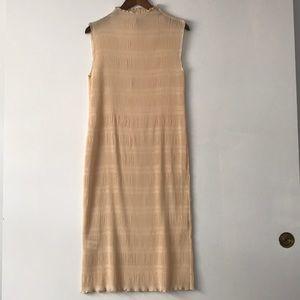 Ganni Women's Hall Pleat Midi Dress